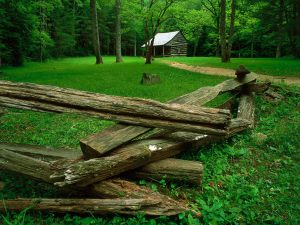 Carter Shields Cabin, Cades Cove, Great Smoky Mountains National Park, Tennessee